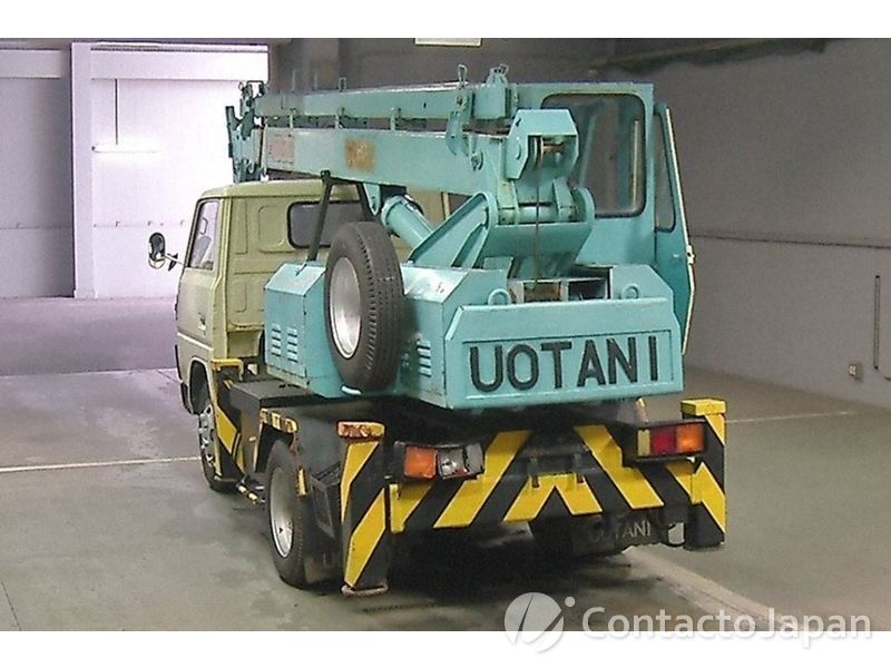 CANTER CRANE 1980 3 TON  : Used Vehicle Exporter