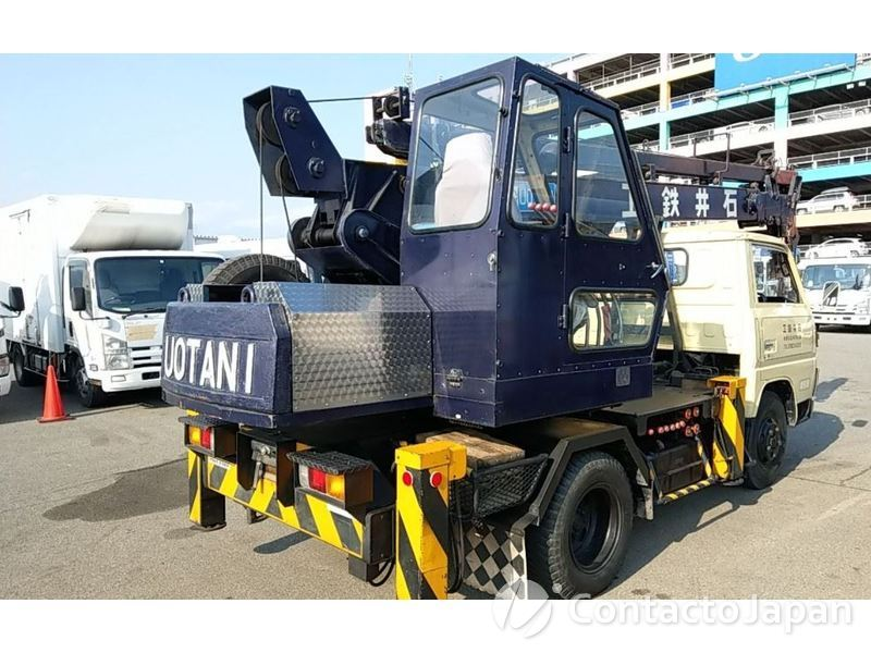MITSUBISHI CANTER CRANE FE111B-76341  : Used Vehicle Exporter
